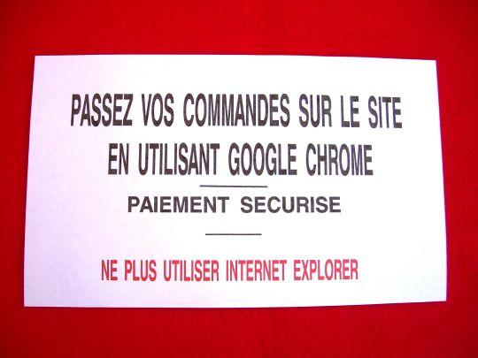 veuillez passer toutes vos  commandes de la boutique ou vos voyances internet en utilisant Google Chrome  pour plus de sécurité avec des paiements  sécurisés ,Ne plus utiliser internet explorer ,  pour tous renseignements, tél ou mail : 04 94 20 40 88