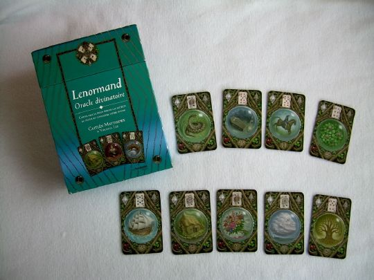 Lenormand, Oracle divinatoire