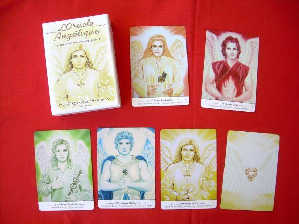 L'Oracle Angélique, conçu pour vous aider à intégrer les vertus angéliques