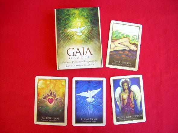 L'oracle de Gaïa, cet oracle de guidance et d'affirmations positives