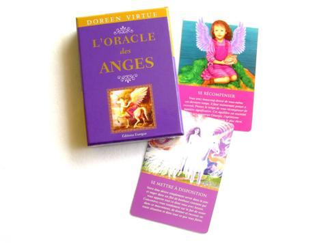l'oracle des anges vous répondra avec douceur et sagesse , Doreen Virtue va réveiller beaucoup de vocations en vous , vous recevrez les meilleurs conseils pour prendre des décisions , jeu simple d' utilisation
