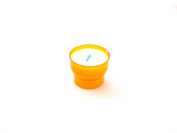 Veilleuse votive orange